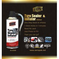 Buy cheap White Aeropak Emergency Tyre Repair Sealant Inflator 450ml 650ml from wholesalers