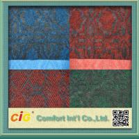 Quality Custom 100% Polyester Jaquard Outdoor Carpet Fabric Anti-fire and Anti Slip for sale