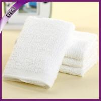 Quality 100% cotton disposable airline towel hot towel for sale
