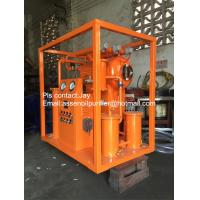 Quality ZY Portable Insulating Oil Filtering Plant, Insulating Oil Cleaning System for sale