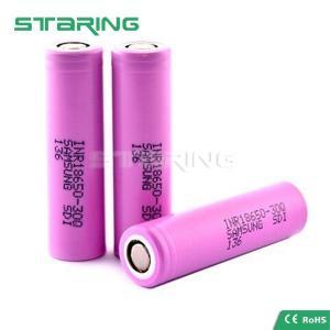 China Original Samsung 30Q INR 18650 3000mAh 3.6V rechargeable ecig mod, Samsung 18650 30Q battery on sale