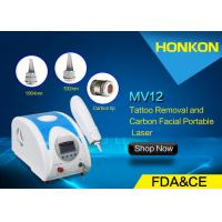Quality 1064nm Q Switched ND YAG Laser Tattoo removal , Skin Toning Shining laser resurfing for sale