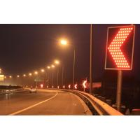 Buy cheap Wireless Controlled LED Curve Flashing Warning Solar Traffic Signs from wholesalers
