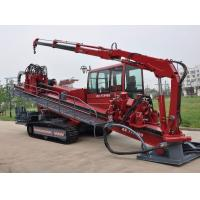 Buy 1200 L/min Hydraulic Horizontal Directional Drilling Rigs With Rack System at wholesale prices