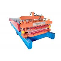 China Two Profile Panel Double Layer Roll Forming Machine Cutting Plate Material Cr 12 on sale