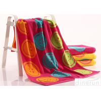 China Woven Dye Yarn Organic Cotton Bath Towels Colorful OEM Available on sale