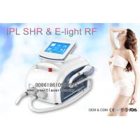 Buy cheap Dual Handles OPT SHR IPL Hair Removal Machine , Portable 3 In 1 Elight IPL from wholesalers