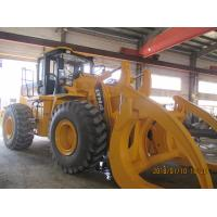China 10 Ton Farm Tractor Loader Grapple , Atv Wood Grapple Hydraulic Log Loader With Trailer on sale