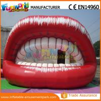 Quality 5m Long Red Advertising Inflatables Big Month Ladies Lip for Promotion for sale