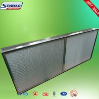 Buy Deep Pleated High Temp Hepa Filter Aluminum Foil Industrial at wholesale prices