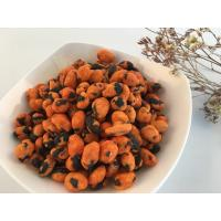 Quality Coated Pure Roasted Edamame Spicy Flavor Soya Bean Snacks Foods for sale