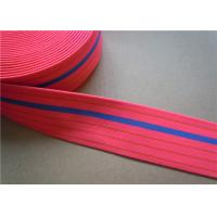Dying Heavy Duty Elastic Webbing For Furniture , Hammock Webbing Straps for garment