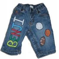 China Personality design cotton customizable shorts jeans kid  jeans boy jeans denim on sale