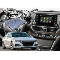 Quality Car navigation box for Honda 10th Accord Offline navigation music video play video interface for sale