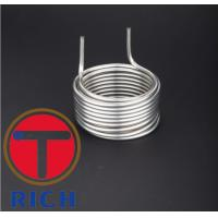 China TORICH ASTM A269 Stainless Steel Tube Machining Products For Condenser on sale