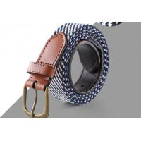 Quality Super Custom Color Raw Leather Belt , Ladies Leather Belts Fashion Jewelry for sale