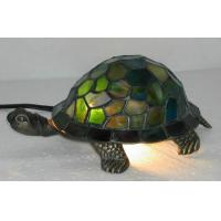 China green tiffany turtle lamp on sale