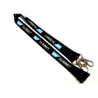 Quality Special Two Metal Hooks Custom Printed Lanyards Safety Breakaway Attachments for sale
