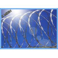 China Razor Wire Builds Better Security Barrier Fencing on sale