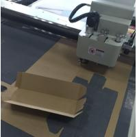 Buy cheap carton sample making cnc cutting small production making machine from wholesalers