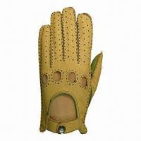 Quality Fashionable Leather Drive Gloves, Come in Various Sizes for sale