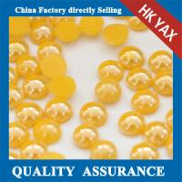 Quality Factory price wholesale Ceramic or pearl heat transfers rhinestone for trimming or applique for sale
