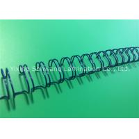 Buy cheap Metal Double Loop Wire Spiral Binding Combs 12.7mm Secure Document Pages product