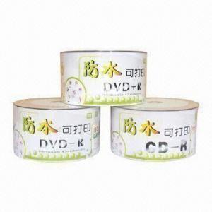 China Full White Printable DVD-R Disk on sale