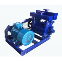 China Single Stage Water Vacuum Pump , Liquid Suction Pump Single Role Belt Drive on sale