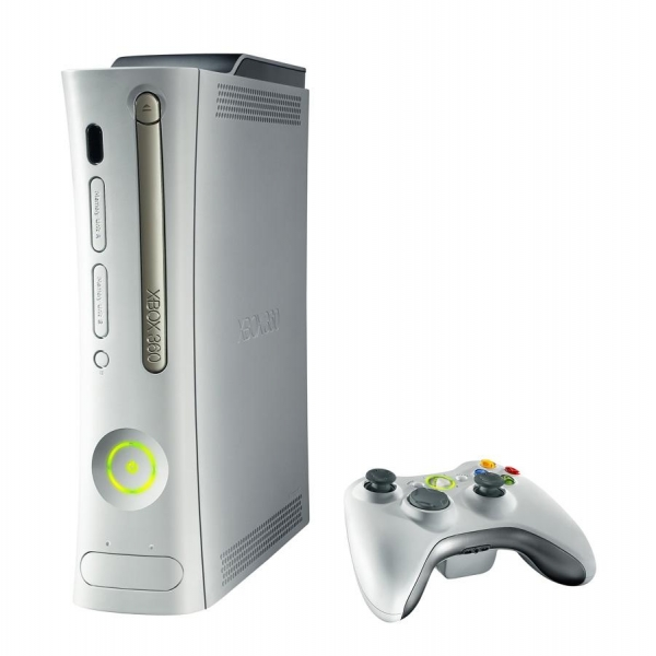 Xbox 360 Printable Coloring Pages : Game console xbox white color