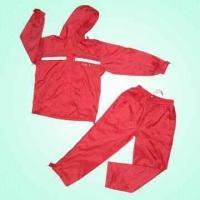 Quality Nylon Sportswear with PU Backing and Tafetta Lining for sale