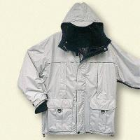 Snowboarding Jacket with Detachable Hood and Large Pockets