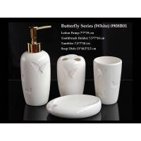 Quality Butterfly Series(White) Bathroom Set for sale
