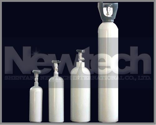 China Seamless Aluminum Alloy Gas Cylinder