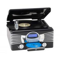 China RETRO MUSIC CENTER Retro 7in1 Music Center with Turntable, CD/MP3, AM/FM Analog Digital Radio, USB recorder, MMC/SD card recorder, RCA Line-in and RCA Line-out function Model:E-615Z on sale