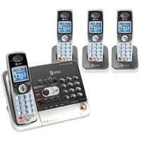 Quality AT&T See details AT&T TL78408 5.8 GHz Digital Four Handset Cordless Telephone with Answering System, Caller ID, and Dial-in-Base Speakerphone for sale