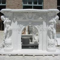 Stone Fireplace Marble Carved Mantel Photo Gallery