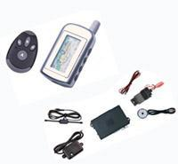 China Two way car alarm with remote engine starter function on sale