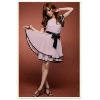 Buy cheap Lotus Trim Dress-Pink(With belt) from wholesalers