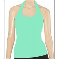 China Eco friendly product Organic cotton yoga top on sale