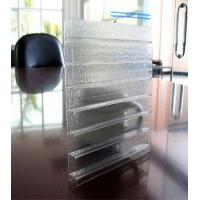 Quality Frosted Polycarbonate sheet(Triple-wall profile) for sale