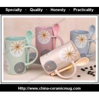 Quality HRCY1011 ceramic gift cup, ceramic promotional gift mug for sale
