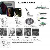 Quality SelfInflatableAirLumbarRest for sale