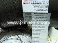 Quality Tantalum wire per ASTM B365 for sale