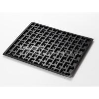China Electronics Packaging black vacuum forming tray on sale