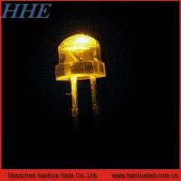 China 5mm yellow straw hat led on sale
