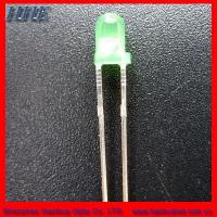 Quality 3mm round led(3.0*5.3) green color for sale
