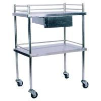 Quality Orthopedics traction bed Medical carriage SKH001 Stainless Steel Treatment Trolley for sale