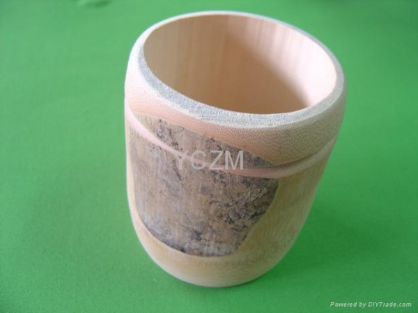 China YCZM Bamboo Tube Bowl