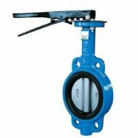 API Metal Seal Butterfly Valve Wafer Type Butterfly Valve With Spline and Pinless